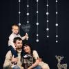 Новогодний семейный портрет в студии