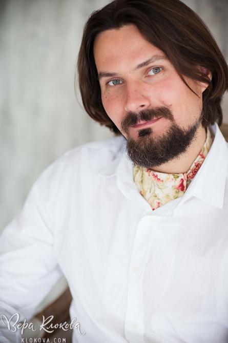 портрет жениха/ пластрон/ шейный платок из хлопка с цветочным рисунком